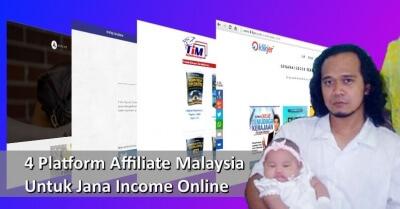 4 Platform Affiliate Malaysia Untuk Jana Income Online